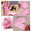 Manicure Moisture Nail Art Beauty SPA Gel Gloves Products (M27)