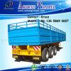 Cargo Semi Trailer, Side Board Semitrailer, Side Boards Flatbed Semi Trailer, Flatbed with Side Wall, Open Side Board Cargo Semi Trailer, Sidewall Semi Trailer