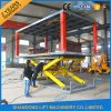 Scissor Design and Four Cylinder Lift Type Hydraulic Car Lift
