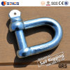 JIS Type Electric Galvanized Straight Dee Shackle
