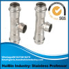 Stainless Steel Explosion Proof Pipe Joint Press Thread Equal Tee Pipe Fitting Elbow