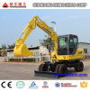 Xiniu 4X4wd 6t Mini Hydraulic Wheel Excavator for Sale