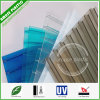 Colored Flexible Plastic PC Hollow Sun Panel for Building Material