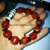 Semi Precious Stone Carnelian Buddha Beaded Bracelet