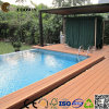 100% Recycled Extruded Wood Plastic Composite Decking