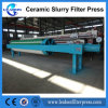 2017 High-Pressure Round Plate Ceramic Slurry Filter Press