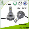 H7 CREE LED Car Light LED Headlight with Canbus 20W