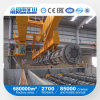 10t+10t Double Girder Overhead Crane Price for Concrete Pile Workshop