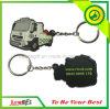 Custom Made Car Shape PVC Keychain for Gifts