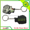Custom Made Car Shape PVC Keychain for Gifts