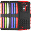 Mobile Cell Phone High Quality 3in1 Silicone PC TPU Stand Case for LG G4
