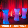 Square High LED Cocktail Table Party Decoration