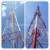 Galvanized Guy Mast Lattice Steel Tower