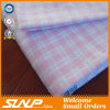 Cotton Yarn-Dyed Flannel with Sliver Lurex Fabric