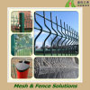 PVC Coated + Galvanized Welded Wire Mesh Fence Panel in European Style (SY-Welded Fence Panel)