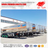 Heavy Duty 40 M3 Aluminum Fuel Tanker Trailer
