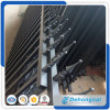 Customized Galvanized Garden Security Wrought Iron Fence /Welded Black Powder Coated Garden Steel Fencing