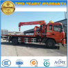 Dongfeng 4X2 6 Wheels Wrecker Truck Mounted Crane for Sale