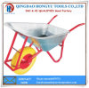 200kgs Load Zinc Plated Metal Tray Wheelbarrows