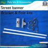 Aluminum Street Banner Bracket and Pole for Street Banner (*NF23M03013)