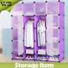 Large Space DIY Home Storage Plastic Bedroom Wardrobe