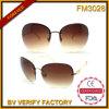 FM3028 Cheap Popular Big Frame Rimless Cat 3 UV400 Sunglasses