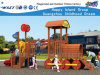 Wooden Train Kids Playsets Outdoor Playgroundhf-17303