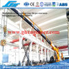 Knuckle and Telescopic Boom Pedestal Offshore Crane