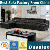 Wholesale Price L Shape Coffee Color Leather Sofa (B. 911)