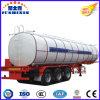 3 Axles Aluminum Semi Truck Trailer Oil Tanker for Sale