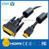 HDMI 19pin Plug-DVI Plug Digital Cable