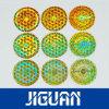 Golden Custom Logo Holographic Label Sticker