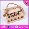 2016 Wholesale Baby Wooden Sport Set Toy, Funny Children Wooden Sport Set Toy, Throwing Group Wooden Sport Set Toy W01A180