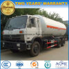 25000L LPG Transport Truck 25 M3 Cbm Gas Tanker for Sale