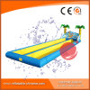 2017 Double Lane Inflatable Water Slip and Slide T11-002