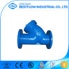 2017 Hot Sale Cast Iron ANSI 125 Flanged Ends Y Type Filter