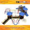 Porpular Design Outdoor Playground Equipment with 114cm Galvanized Post