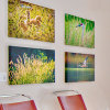 Giclee Printed Picture Canvas for Hotel Decoration Artwork