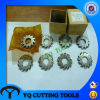 HSS M2/M35 Metric Module Involute Gear Milling Cutter 8PCS Set