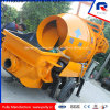 Factory Supply Small Concrete Pump with Drum Mixer