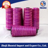 Polyester Space Dyed Jersey Fabric Yarn