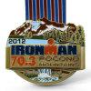 Wholesale Custom Iron Man Running Medal