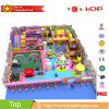 2017 Train Style Indoor Playground Equipment Children Amusement for Sale