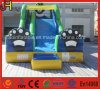 Blue Cat Outdoor Inflatable Garden Water Slides for Parties