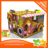 New Design Colorful House Cute Indoor Naughty Castle for Kids