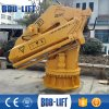Portal Offshore Folding Hydraulic Dock Crane for Sale