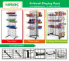 Metal Gridwall Grocery Display Stand