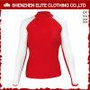White and Red Long Sleeve Cheap Rashguards for Women (ELTRGI-48)