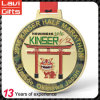 New Design Custom Gold Japanese Marathon Medal