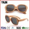 Ynjn Personality Custom UV400 Wood Sun Polarized Glasses (YJ-MP080)